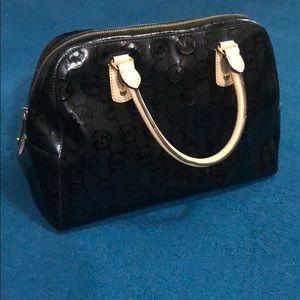Micheal Kors Pattern Leather Handbag